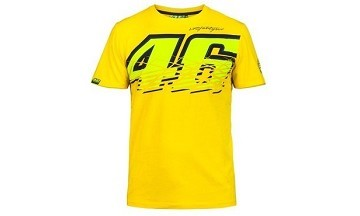 VR46 Official Merchandise T-Shirt Yellow VR46