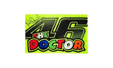 VR46 Official Merchandise Bandiera VR46