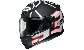 Shoei NXR Marquez Black Ant