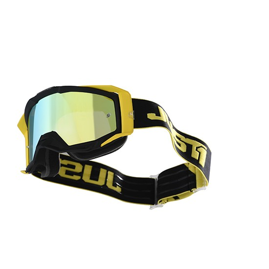 Accessori Occhiali da Cross Iris Track Black-Yellow