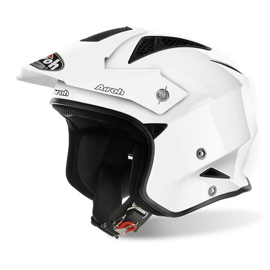Caschi Caschi off-road Airoh Trr S White Gloss